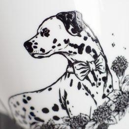 malowany pies