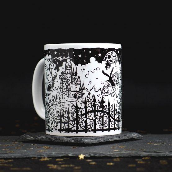 goth mug